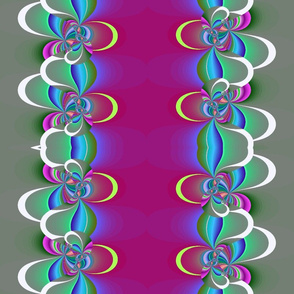 swirling strip fractal