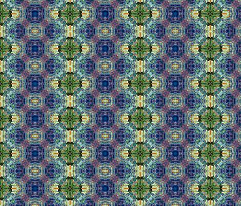 Heavenly Reflections. fabric by rhondadesigns on Spoonflower - custom fabric