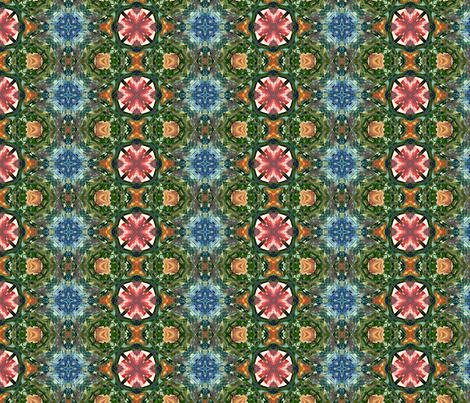 Heavenly Island Garden  fabric by rhondadesigns on Spoonflower - custom fabric