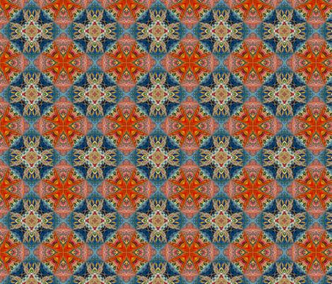 Heaven's Fire. fabric by rhondadesigns on Spoonflower - custom fabric