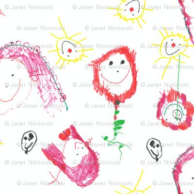 Flower Girls by Sabrina age 4