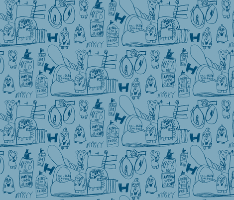 myrky fabric by tarmo on Spoonflower - custom fabric