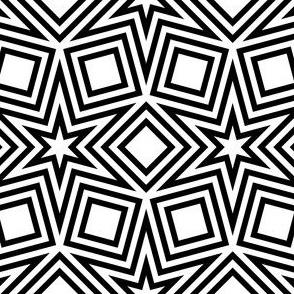 R6 V2i outlined stars and squares
