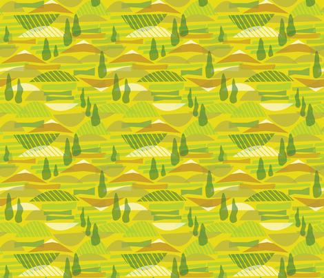 Italian Countryside fabric by acbeilke on Spoonflower - custom fabric