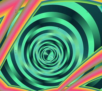 Op Art Black Hole