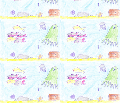 ylvafabric fabric by sandell on Spoonflower - custom fabric