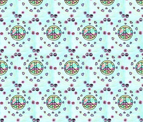 Rachel's Drawing fabric by weedesigns on Spoonflower - custom fabric