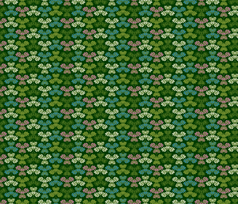 © 2011 Butterflums 02 small fabric by glimmericks on Spoonflower - custom fabric