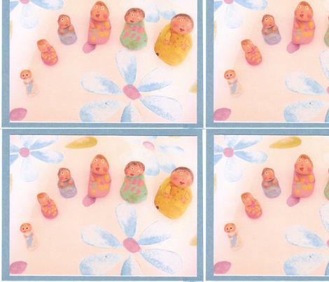 """Rock""tryoshka fabric by jennaberry on Spoonflower - custom fabric"