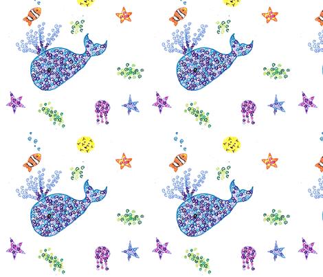 Sea_Spirals fabric by scvance on Spoonflower - custom fabric