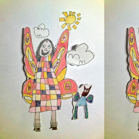Fairycat fabric by matisenerchia on Spoonflower - custom fabric