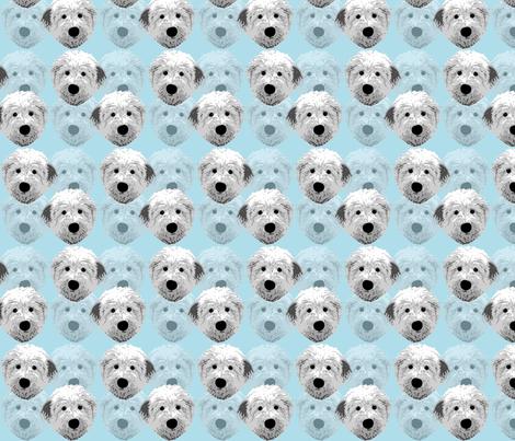English_sheepdog_1 fabric by mayabella on Spoonflower - custom fabric