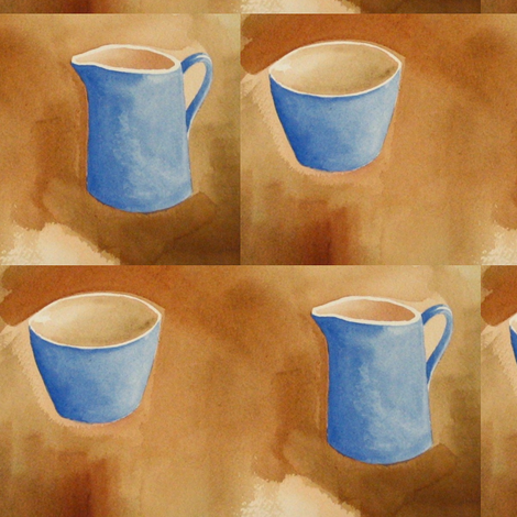 Creamer & Sugar Bowl fabric by painter13 on Spoonflower - custom fabric