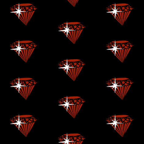 Ruby fabric by pond_ripple on Spoonflower - custom fabric
