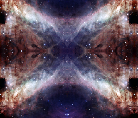 Galactic fabric by tingish on Spoonflower - custom fabric