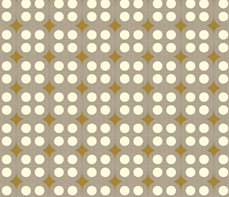 four_dot_linen fabric by holli_zollinger on Spoonflower - custom fabric