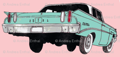 1960 Edsel Ranger pink and blue