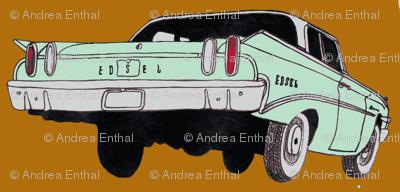 1960 Edsel Ranger Rear view mint/amber