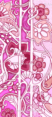 Love is an Art Nouveau Thing (pink)