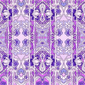 Love is an Art Nouveau Thing (lavender)