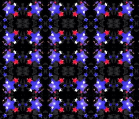 my fireworks fabric by kindisvar on Spoonflower - custom fabric