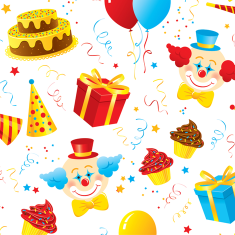 Birthday Party fabric by jazzypatterns on Spoonflower - custom fabric