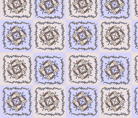 © 2011 Hoots 2 fabric by glimmericks on Spoonflower - custom fabric