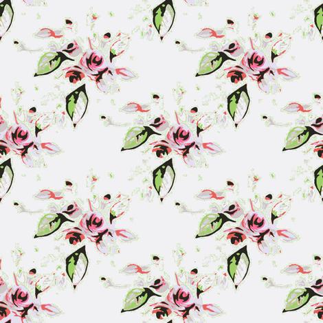 Roses  fabric by joanmclemore on Spoonflower - custom fabric