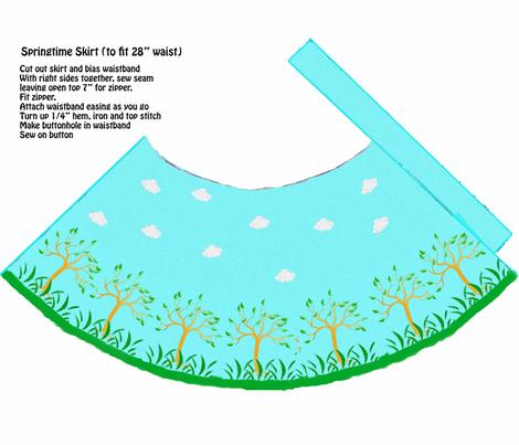 skirt_pattern_1_yard_copy fabric by catrionat on Spoonflower - custom fabric