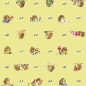 The Hedgehog, Yellow | alexcolombo.com
