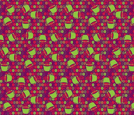 © 2011 Coffee Time - Kawowza! fabric by glimmericks on Spoonflower - custom fabric