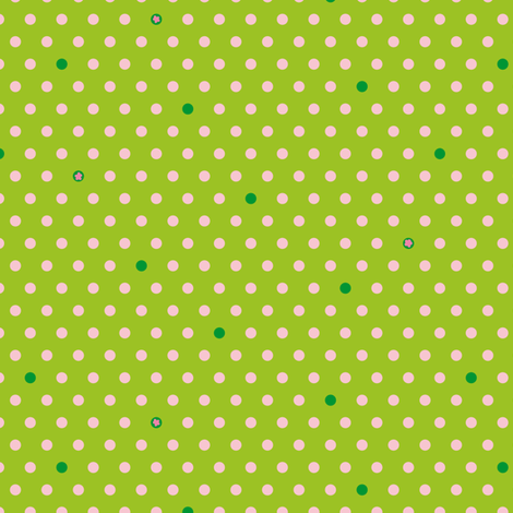PolkaDotty fabric by zoebrench on Spoonflower - custom fabric