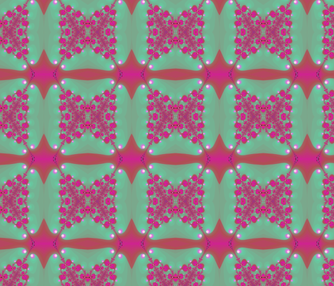 Butterfly kisses fabric by eclectic_house on Spoonflower - custom fabric