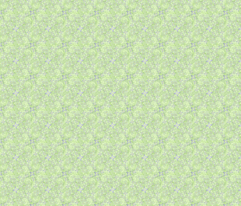 © 2011 Bluets Violets fabric by glimmericks on Spoonflower - custom fabric