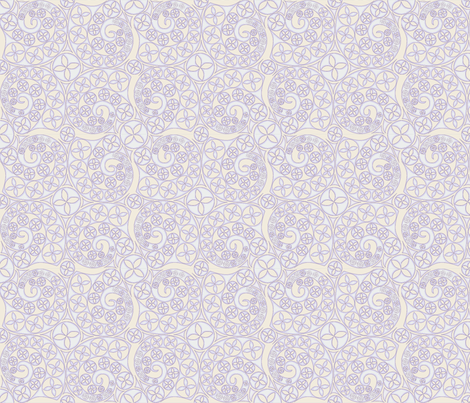 © 2011 Bluets of Blues fabric by glimmericks on Spoonflower - custom fabric