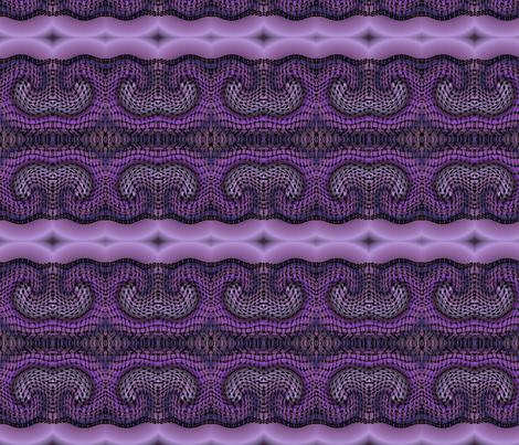 purple_zentangle_warped fabric by vinkeli on Spoonflower - custom fabric