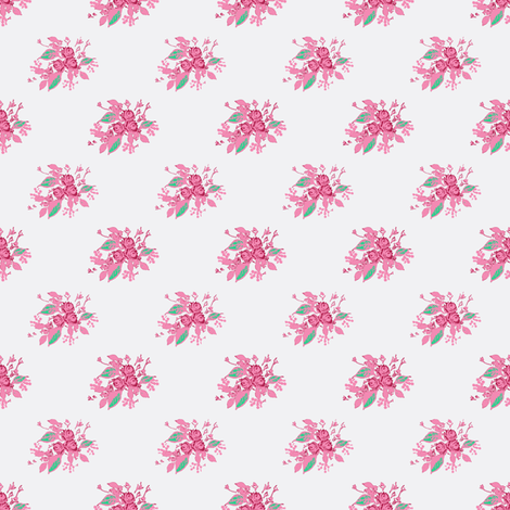 Roses red fabric by joanmclemore on Spoonflower - custom fabric