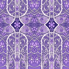 Lacy Purple Spring Thing