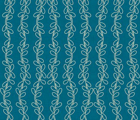crown_vine_linen fabric by holli_zollinger on Spoonflower - custom fabric