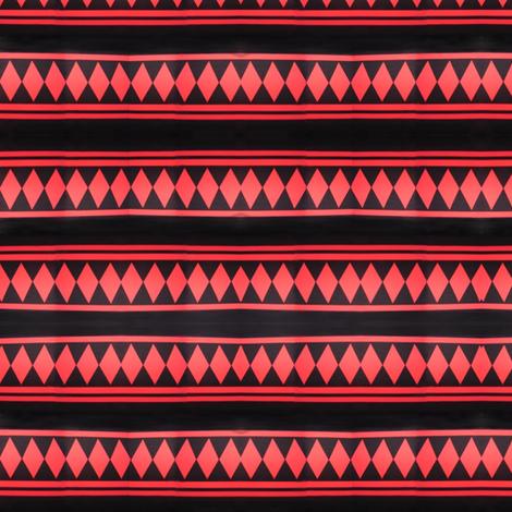 jussi_salmiak_squares_black_and_red fabric by vinkeli on Spoonflower - custom fabric