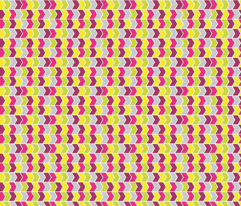Chevrons fabric by ankepanke on Spoonflower - custom fabric