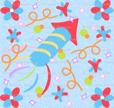 rockets, and pinwheels, and stars...oh my!