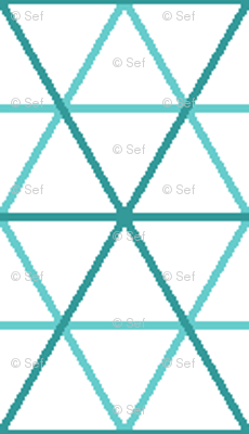 isometric or triangle cm graph