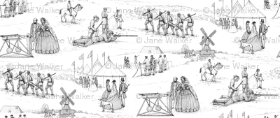 Wimbledon Rifle Shooting Competition 1860 ©2011 by Jane Walker