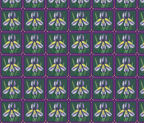 © 2011 Iris Quilt fabric by glimmericks on Spoonflower - custom fabric