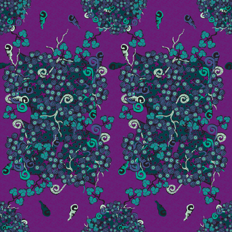 impassioned organic audrey fabric by glimmericks on Spoonflower - custom fabric