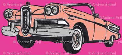 pop art 1958 Edsel Citation convertible