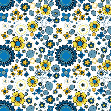 Lemonade & Folksy Afternoon! - © PinkSodaPop 4ComputerHeaven.com fabric by pinksodapop on Spoonflower - custom fabric