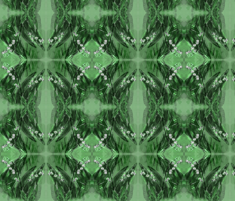The_lily_of_the_valley fabric by vinkeli on Spoonflower - custom fabric