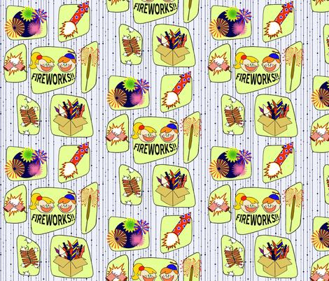 RetroFireworks1 fabric by walkathon on Spoonflower - custom fabric
